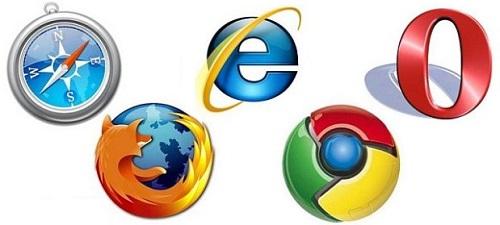 Strona w Internet Explorerze