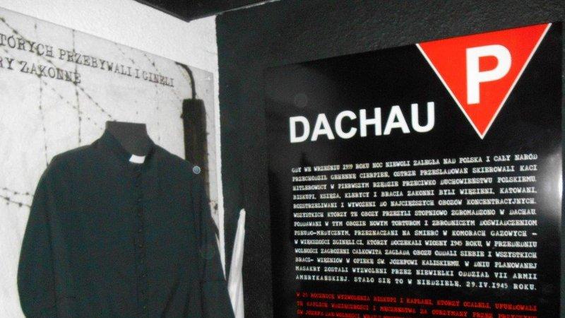 Ks Dominik Maj więzień Dachau