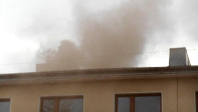 smog dym