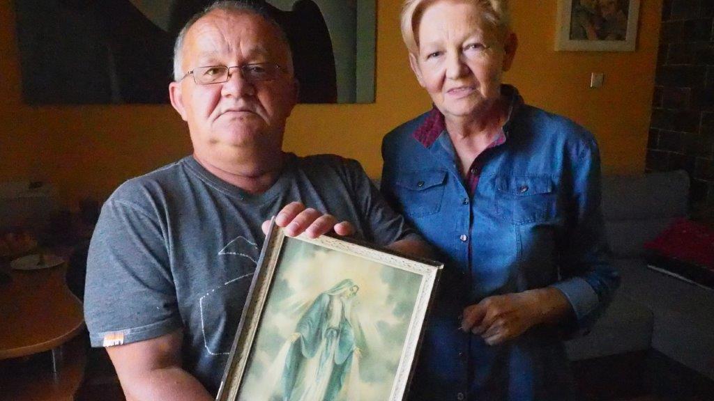 Barbara i Kazimierz Gąbka o ks Maju